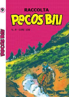Copertina PECOS BILL ALBI RACCOLTA n.9 - RACCOLTA ALBI DI PECOS BILL LIBRETTO/COLORE, MERCURY EDITORIALE