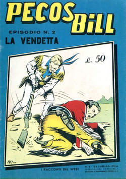 Copertina PECOS BILL ALPE ANASTATICI n.2 - PECOS BILL ALPE ANASTATIC    2, MERCURY EDITORIALE