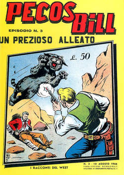 Copertina PECOS BILL ALPE ANASTATICI n.3 - PECOS BILL ALPE ANASTATIC    3, MERCURY EDITORIALE