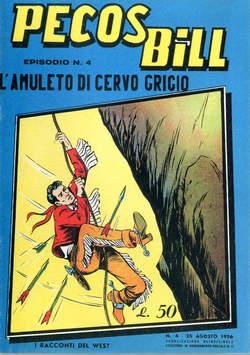 Copertina PECOS BILL ALPE ANASTATICI n.4 - PECOS BILL ALPE ANASTATIC    4, MERCURY EDITORIALE