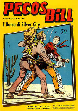 Copertina PECOS BILL ALPE ANASTATICI n.9 - PECOS BILL ALPE ANASTATIC    9, MERCURY EDITORIALE