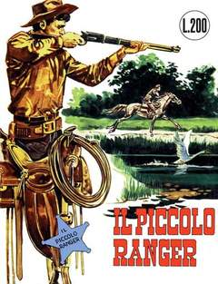 Copertina PICCOLO RANGER COLLANA COWBOY n.1 - dal n 1 al n 12, MERCURY EDITORIALE