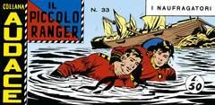 Copertina PICCOLO RANGER SERIE 7 n.4 - 33/41, MERCURY EDITORIALE