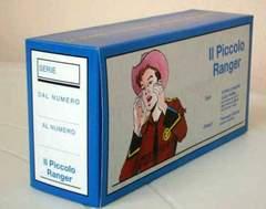 Copertina PICCOLO RANGER SERIE 1 n. - COFANETTO VUOTO, MERCURY EDITORIALE
