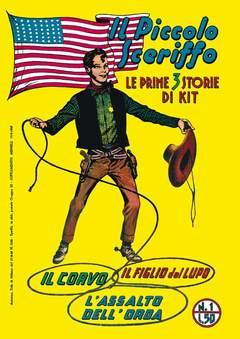 Copertina PICCOLO SCERIFFO n.1 - 1/6, MERCURY EDITORIALE