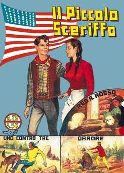 Copertina PICCOLO SCERIFFO n.3 - 13/18, MERCURY EDITORIALE