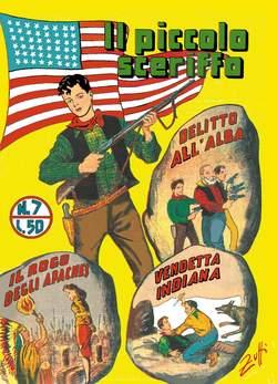 Copertina PICCOLO SCERIFFO n.2 - 7/12, MERCURY EDITORIALE