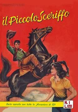 Copertina PICCOLO SCERIFFO RACC.ALBO ORO n.1 - IL MENSILE ALBO D'ORO, MERCURY EDITORIALE