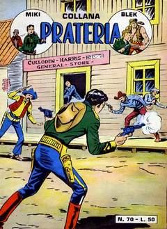 Copertina PRATERIA COLLANA (MIKI + BLEK) n.1 - 70/77, MERCURY EDITORIALE