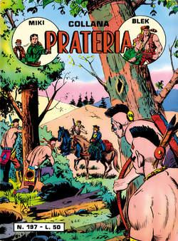 Copertina PRATERIA COLLANA (MIKI + BLEK) n.19 - 197/203, MERCURY EDITORIALE