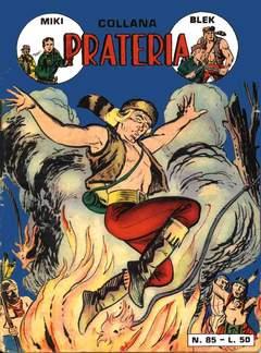 Copertina PRATERIA COLLANA (MIKI + BLEK) n.3 - 85/91, MERCURY EDITORIALE