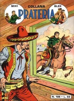 Copertina PRATERIA COLLANA (MIKI + BLEK) n.6 - 106/112, MERCURY EDITORIALE