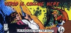 Copertina RAGAZZO FAR WEST SERIE COMPLET n.5 - serie V (1/25) + fuori-serie VEL 3, MERCURY EDITORIALE