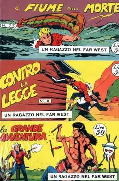Copertina RAGAZZO FAR WEST SERIE Serie I n.2 - 07/12, MERCURY EDITORIALE