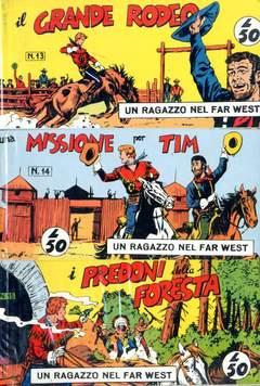 Copertina RAGAZZO FAR WEST SERIE Serie I n.3 - 13/18, MERCURY EDITORIALE