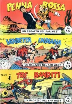 Copertina RAGAZZO FAR WEST SERIE Serie I n.4 - 19/22, MERCURY EDITORIALE
