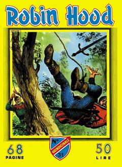 Copertina ROBIN HOOD n.4 - (31/40), MERCURY EDITORIALE