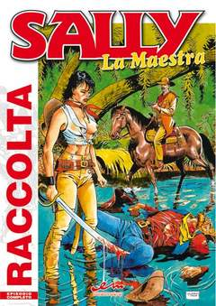 Copertina SALLY n.2 - RACCOLTA 4 ALBI, MERCURY EDITORIALE