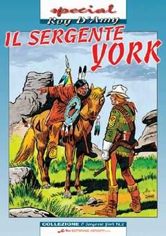 Copertina SERGENTE YORK n.2 - SERGENTE YORK (il)           2, MERCURY EDITORIALE