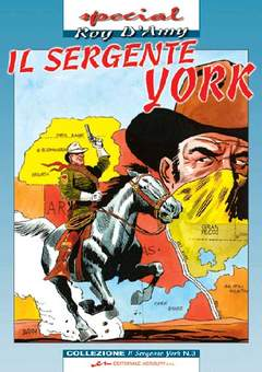 Copertina SERGENTE YORK n.3 - SERGENTE YORK (il)           3, MERCURY EDITORIALE