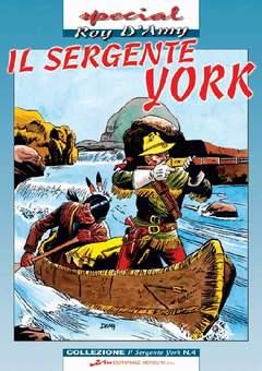 Copertina SERGENTE YORK n.4 - SERGENTE YORK (il)           4, MERCURY EDITORIALE