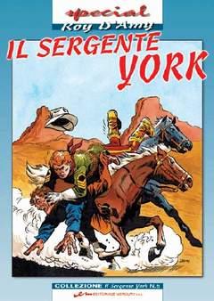 Copertina SERGENTE YORK n.5 - SERGENTE YORK (il)           5, MERCURY EDITORIALE