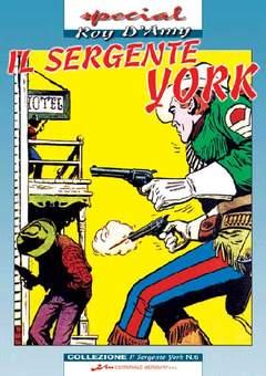 Copertina SERGENTE YORK n.6 - SERGENTE YORK (il)           6, MERCURY EDITORIALE