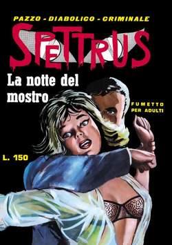 Copertina SPETTRUS n.1 - 1/5, MERCURY EDITORIALE