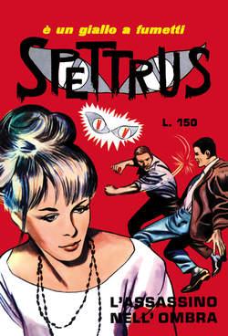 Copertina SPETTRUS n.2 - 6/10, MERCURY EDITORIALE