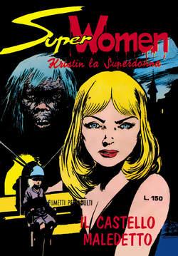 Copertina SUPER WOMAN n.1 - 1/4, MERCURY EDITORIALE