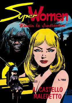 Copertina SUPER WOMEN n.1 - 1/4, MERCURY EDITORIALE
