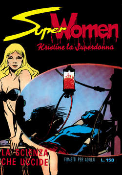 Copertina SUPER WOMEN n.2 - 5/7 - Fine Serie, MERCURY EDITORIALE