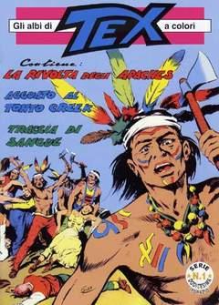 Copertina TEX ALBI A COLORI SERIE 12 n. - LOTTO UNICO 1/4 TOPAZIO, MERCURY EDITORIALE