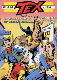 Copertina TEX ALBI A COLORI SERIE  9 n.1 - LOTTO DAL 2 AL 5, MERCURY EDITORIALE