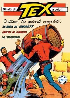 Copertina TEX ALBI A COLORI SERIE COMPLETE n.2 - SERIE II + Cofanetto, MERCURY EDITORIALE