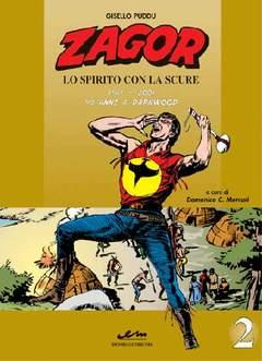 Copertina ZAGOR LO SPIRITO CON LA SCURE n.2 - 1961/2001 40 ANNI A DARKWOOD, MERCURY EDITORIALE