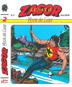 Copertina ZENITH BOOK DE LUXE n.3 - ZAGOR 2, MERCURY EDITORIALE