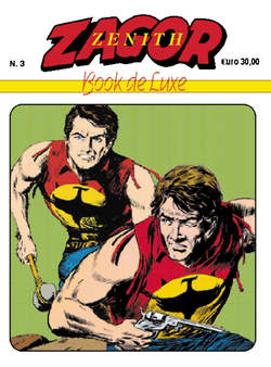 Copertina ZENITH BOOK DE LUXE n.6 - ZAGOR 3, MERCURY EDITORIALE