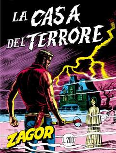 Copertina ZENITH GIGANTE ZAGOR n.9 - LOTTO 9 33/36, MERCURY EDITORIALE