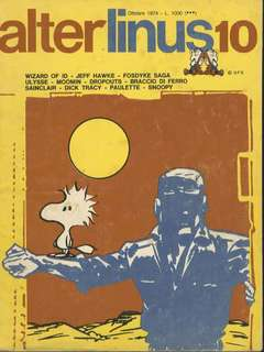 Copertina ALTER LINUS n.10 - OTTOBRE 1974, MILANO LIBRI EDIZIONI