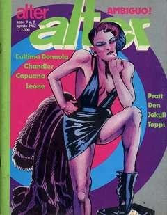 Copertina ALTER LINUS n.104 - AGOSTO 1982 - ALTER ALTER, MILANO LIBRI EDIZIONI