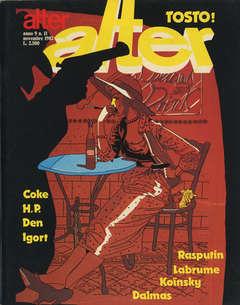 Copertina ALTER LINUS n.107 - NOVEMBRE 1982 - ALTER ALTER, MILANO LIBRI EDIZIONI
