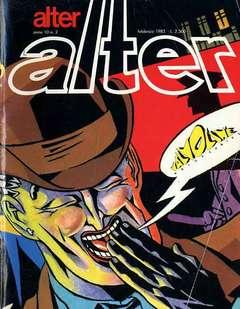 Copertina ALTER LINUS n.110 - FEBBRAIO 1983 - ALTER ALTER, MILANO LIBRI EDIZIONI