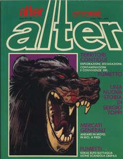 Copertina ALTER LINUS n.118 - OTTOBRE 1983 - ALTER ALTER, MILANO LIBRI EDIZIONI