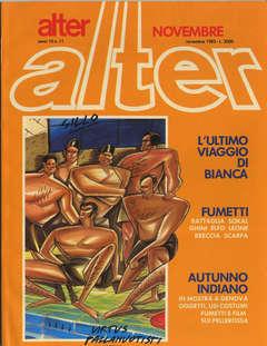 Copertina ALTER LINUS n.119 - NOVEMBRE 1983 - ALTER ALTER, MILANO LIBRI EDIZIONI