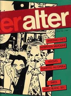 Copertina ALTER LINUS n.121 - GENNAIO 1984 - ALTER ALTER, MILANO LIBRI EDIZIONI