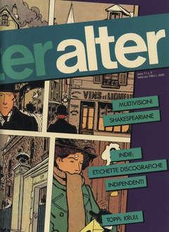 Copertina ALTER LINUS n.122 - FEBBRAIO 1984 - ALTER ALTER, MILANO LIBRI EDIZIONI