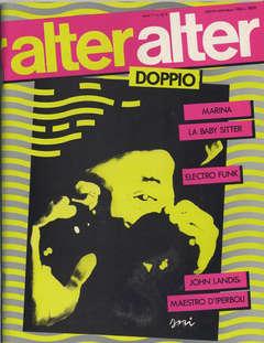 Copertina ALTER LINUS n.128 - 128/129 AGOSTO/SETTEMBRE 1984 - ALTER ALTER, MILANO LIBRI EDIZIONI