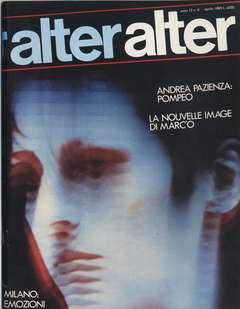 Copertina ALTER LINUS n.136 - APRILE 1985 - ALTER ALTER, MILANO LIBRI EDIZIONI