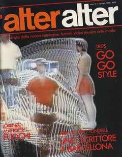 Copertina ALTER LINUS n.138 - GIUGNO 1985 - ALTER ALTER, MILANO LIBRI EDIZIONI